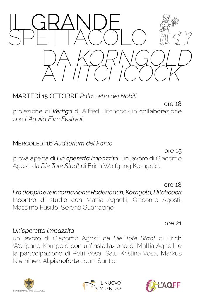 Il Grande Spettacolo: da Korngold a Hitchcock