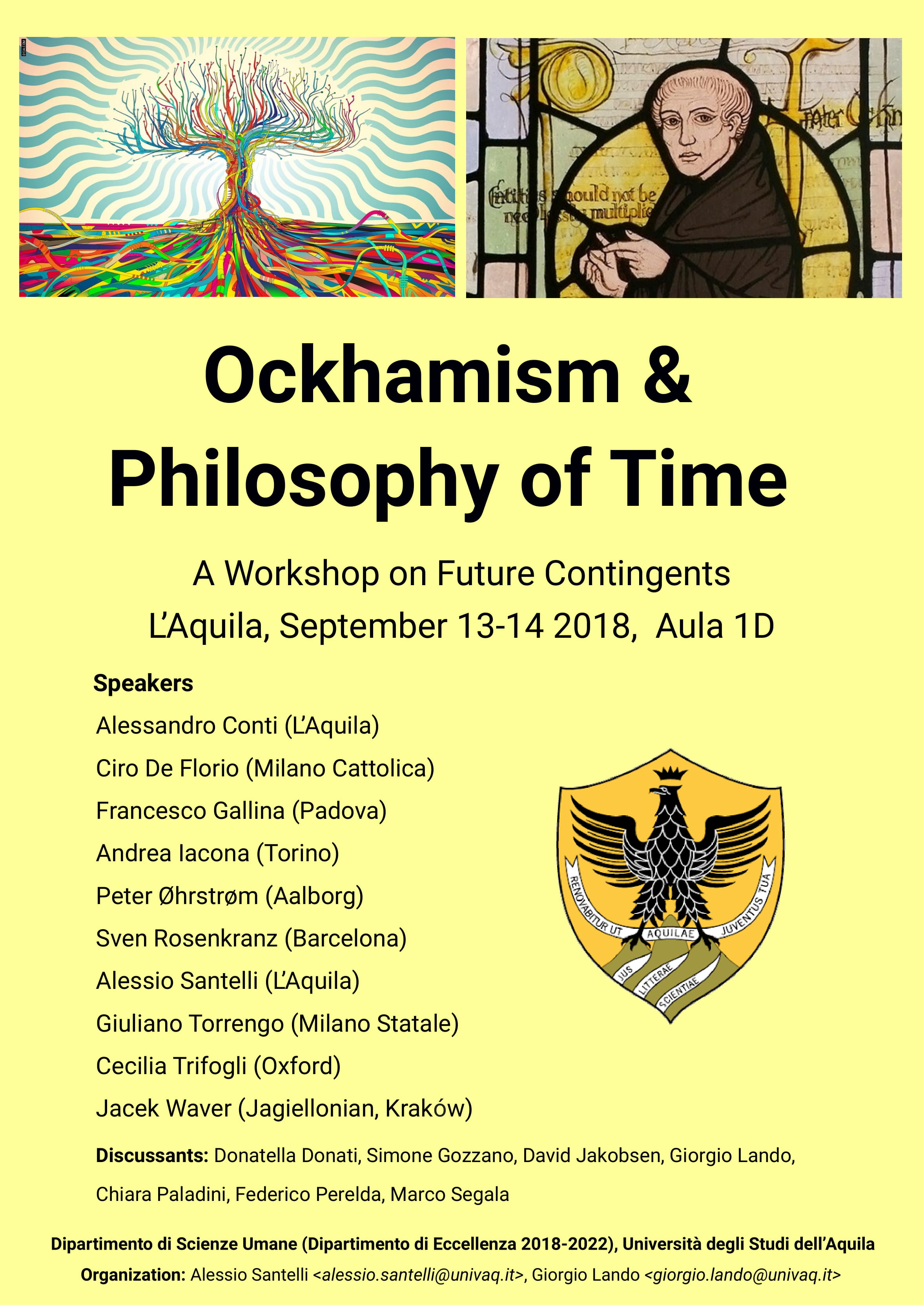 Convegno Ockhaism and Philosophy of Time