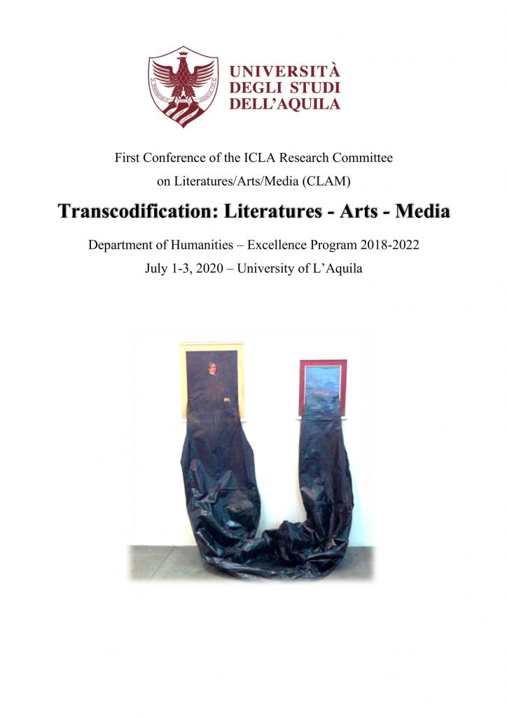 Call For Papers –  CLAM conference Transcodification: Literatures – Arts – Media
