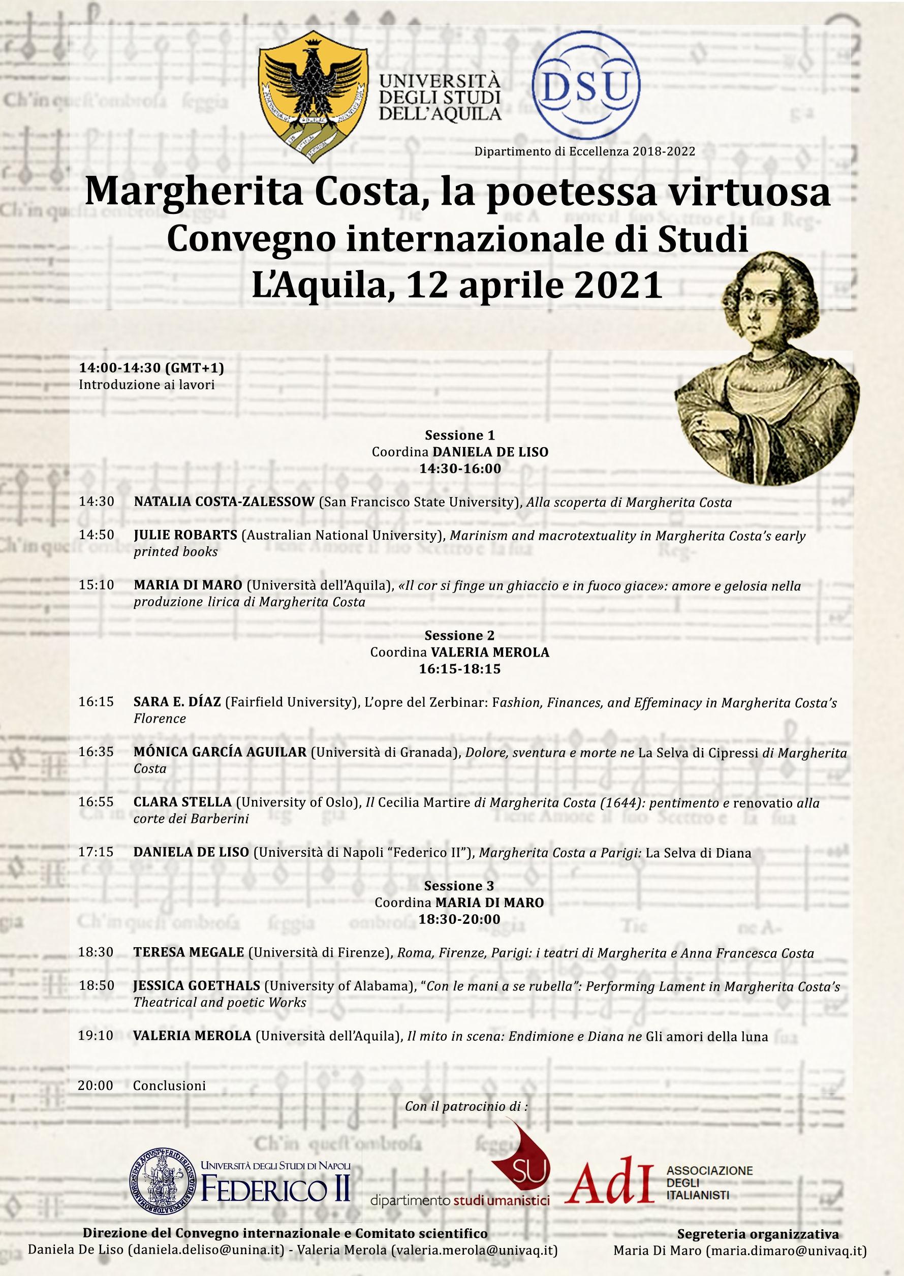 Convegno Margherita Costa