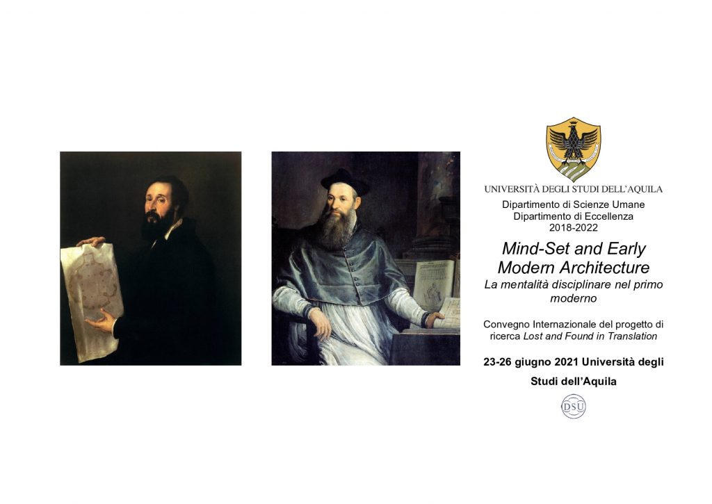Mind-Set and Early Modern Architecture